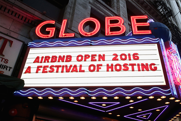 Airbnb Open events updates